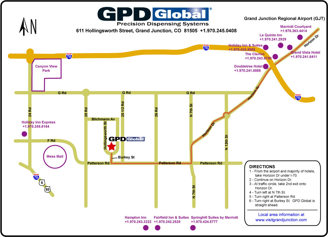 GPD Global Grand Junction Colorado