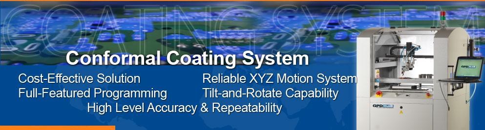 low cost conformal coating system