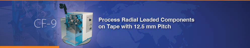 Taped Radical Component Lead Former