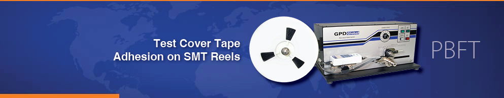 PBFT tests cover tape adhesion on SMT reels