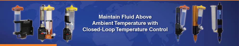 maintain fluid  above ambient temperature with closed-loop temperature control