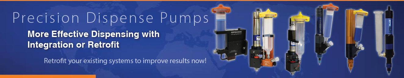 More effective dispensing NOW-retrofit your system with Precision Dispense Pumps