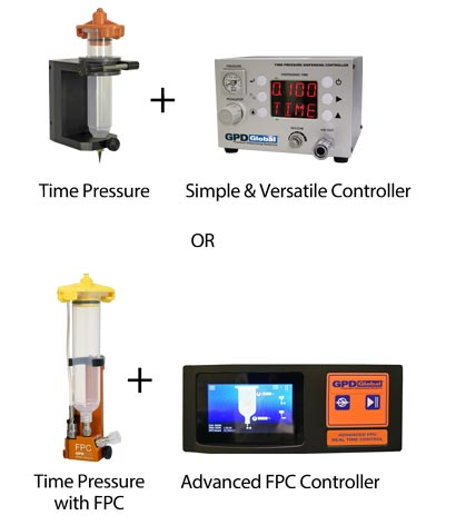 simple or advanced controller for time pressure pump